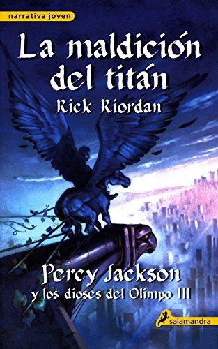 9788498382921 Maldicion Del Titan The Titans Curse Percy Jackson