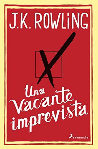 9788498384949: Una vacante imprevista (Spanish Edition)