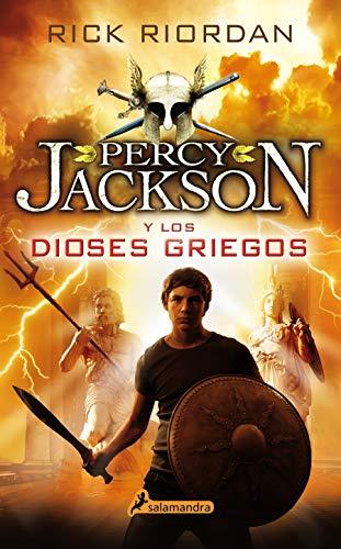 9788498387131: PERCY JACKSON Y LOS DIOSES GRIEGOS (S) (Juvenil)
