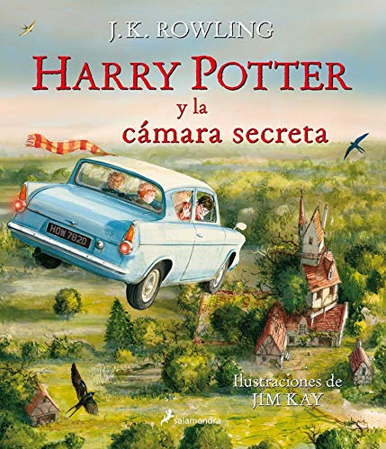 9788498387650: Harry Potter y la camara secreta Ilustrado (Spanish Edition)