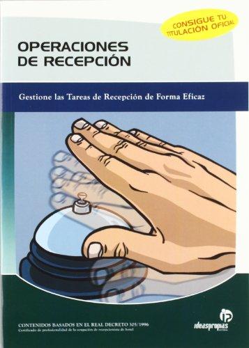9788498390193: Operaciones de recepción (Hostelería y turismo)