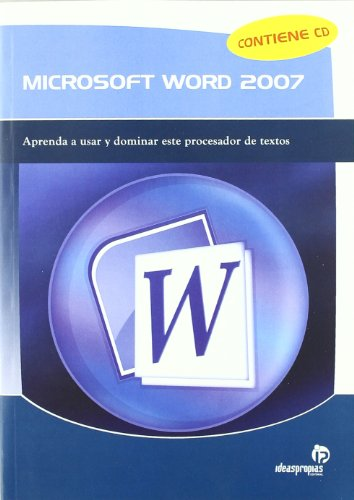 9788498392241: MICROSOFT WORD 2007 CD