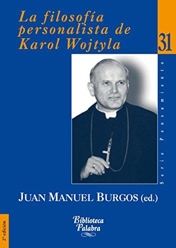 9788498400984: FILOSOFIA PERSONALISTA DE KAROL WOJTY