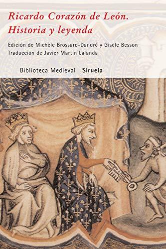 9788498411201: Ricardo Corazon de Leon (Biblioteca Medieval) (Spanish Edition)