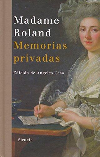 9788498412291: Memorias privadas (Libros del Tiempo)