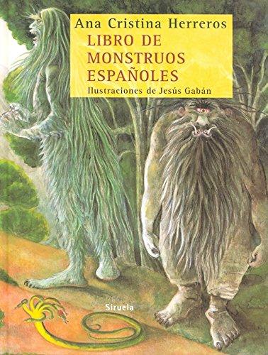 9788498412406: Libro de monstruos españoles (Las Tres Edades)