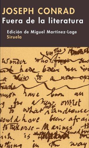 9788498412598: Fuera de la literatura (Libros del Tiempo)