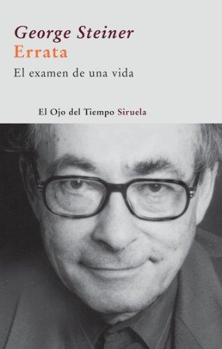 9788498412970: Errata (El Ojo Del Tiempo / the Eye of Time) (Spanish Edition)
