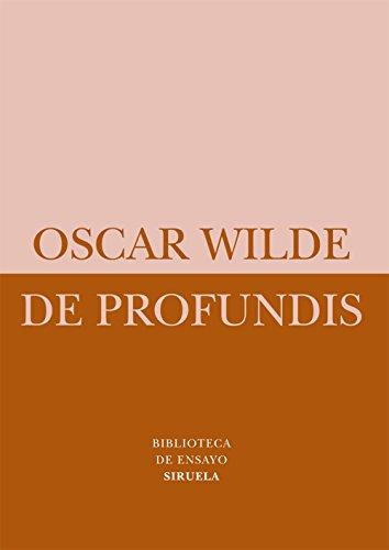 9788498414493: De Profundis (Biblioteca de Ensayo/Serie menor)