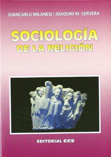 9788498422054: Sociología de la Religión (Spanish Edition)
