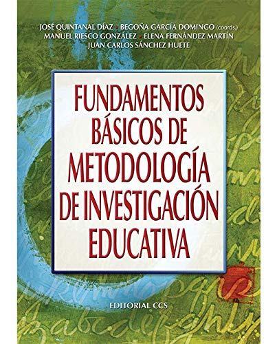 9788498427417: FUNDAMENTOS BÁSICOS DE METODOLOGÍA DE INVESTIGACIÓN EDUCATIVA