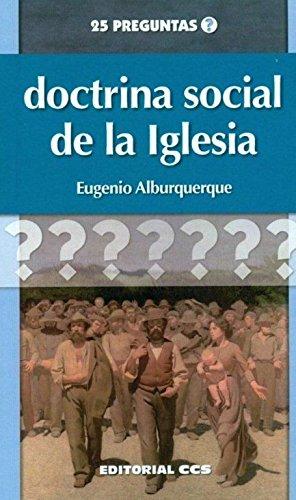 9788498427660: Doctrina social de la Iglesia (25 preguntas)