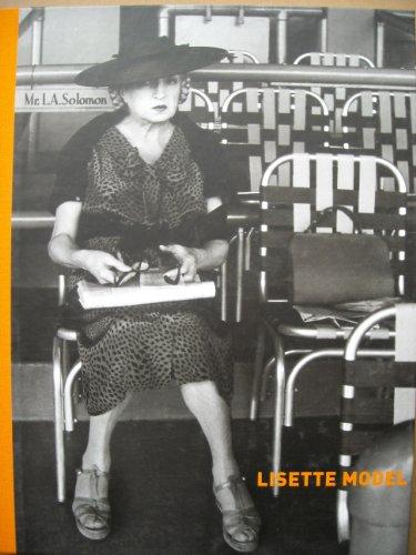 Lisette Model: LISETTE MODEL