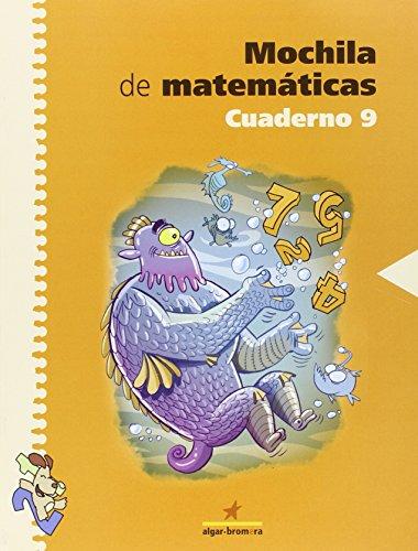 9788498450002: Mochila de matemáticas. Cuaderno 9: Primaria. 3r curso - 9788498450002