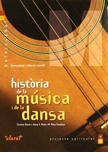9788498461688: Història de la música i de la dansa