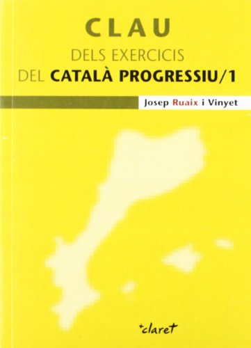 9788498464788: Clau dels exercicis del Catal Progressiu /1