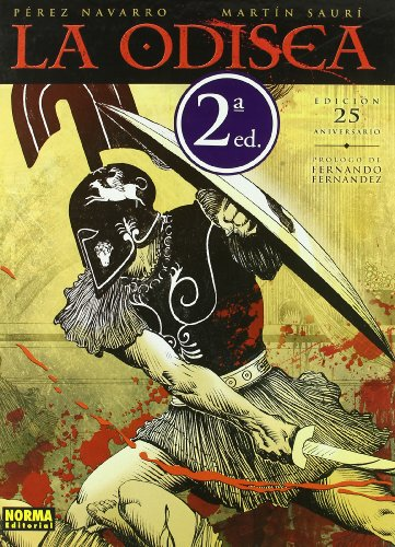 La Odisea / The Odyssey (Hardback): Francisco Perez Navarro