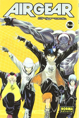 9788498472806: AIR GEAR 14 (Cómic Manga)