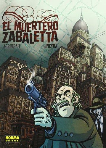 9788498474916: EL MUERTERO ZABALETTA (CÓMIC EUROPEO)