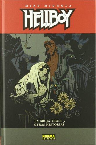 9788498475067: HELLBOY 10: LA BRUJA TROL Y OTRAS HISTORIAS (Ed. Cartoné) (MIKE MIGNOLA)