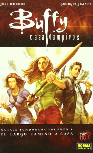 Buffy cazavampiros 1 el largo camino a casa/ Buffy Vampire Slayer 1 The Long Journey Home (Paperback) - Joss Whedon