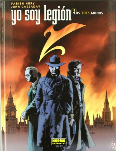 9788498478389: Yo soy legion 3 los tres monos/ I Am Legion 3 The Three Monkeys (Yo Soy Legion/ I Am Legend) (Spanish Edition)