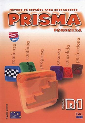 9788498480023: Prisma progresa B1 : Libro del alumno (1CD audio)