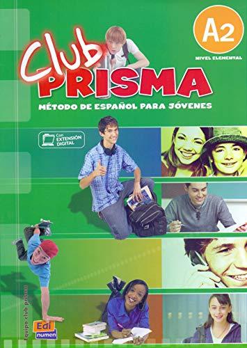 9788498480146: Club Prisma A2 - Libro de alumno + CD
