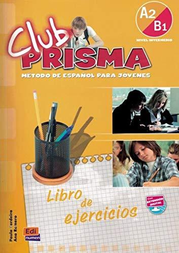 9788498480191: Club Prisma A2/B1 - Libro de ejercicios