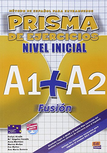 9788498480566: Prisma Fusion A1 + A2: Exercises Book