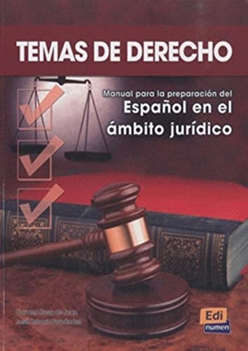Temas De Derecho: Student Book (Spanish Edition): Carmen Rosa de