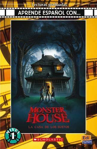 9788498481327: Aprende español con... Monster house. Livello 1. Con CD Audio