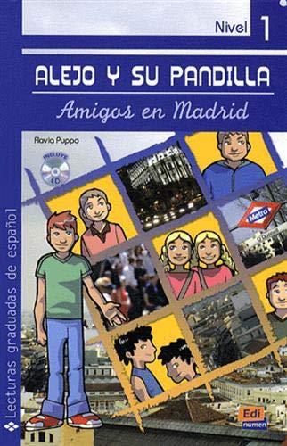 9788498481716: Alejo y su pandilla Nivel 1 Amigos en Madrid + CD