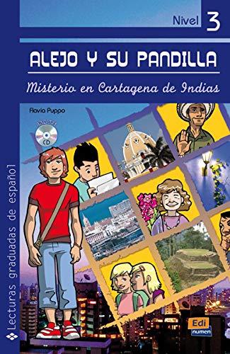 9788498481730: Alejo y su pandilla Nivel 3 Misterio en Cartagena de Indias + CD (Spanish Edition)