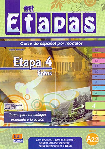 9788498481839: Etapas Level 4 Fotos - Libro del Alumno/Ejercicios + CD (Métodos De Español / Spanish Methods) (Spanish Edition)