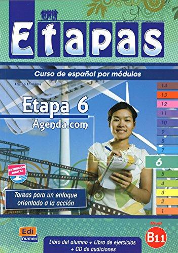 9788498481853: Etapa 6. Agenda.com - Libro del alumno (Etapas)