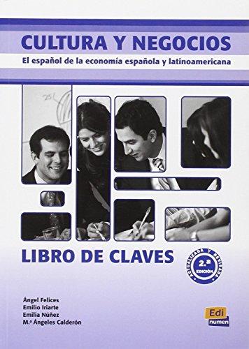 9788498482195: Cultura y negocios - Libro de claves