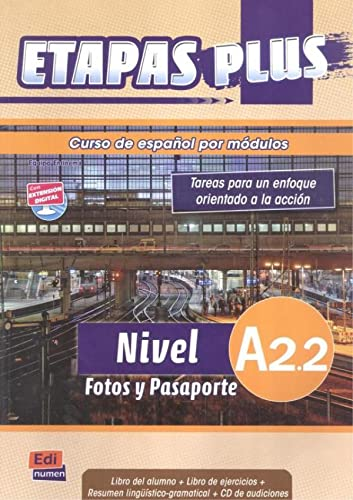 Curso de espanol por modulos A2.2 /: Martin, Anabel De