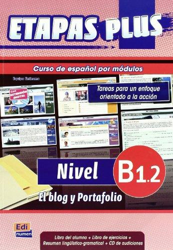 9788498482492: Etapas Plus B1.2: Student Book + Exercises + CD (Spanish Edition)