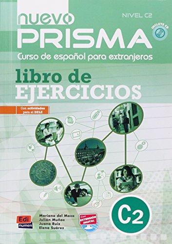 9788498482607: Nuevo prisma. C2. Ejercicios. Per le Scuole superiori. Con CD Audio: Exercises Book + CD