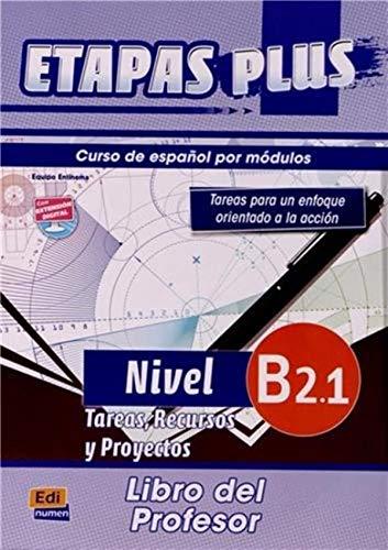 9788498483611: Etapas Plus B2.1. - Libro del profesor