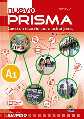 9788498483642: nuevo Prisma A1 - Libro del alumno