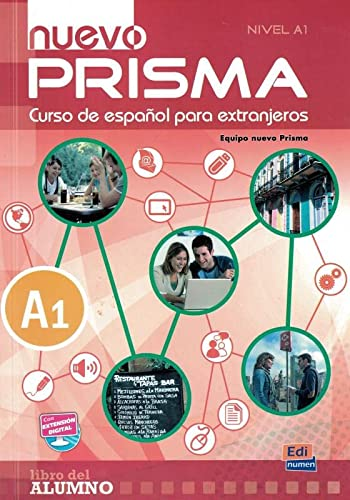 9788498483659: Nuevo Prisma A1: Student Book + CD (English, Spanish and Spanish Edition)