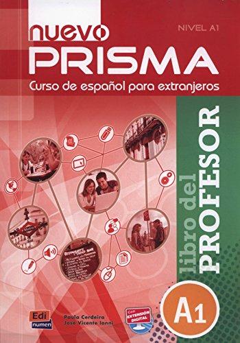 9788498483666: nuevo Prisma A1 - Libro del profesor: Tutor Book