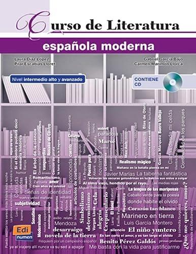 9788498483819: Curso De Literatura Española Moderna (+cd) (Español Lengua Extranjera)
