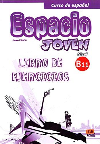 Espacio Joven B1.1: Exercises Book (Paperback): Liliana Pereyra Brizuela,