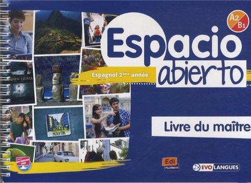 9788498485110: Espacio Abierto A2/B1 - Livre du maître