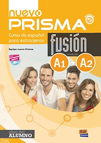9788498485202: nuevo Prisma Fusión A1+A2 Alumno+ CD