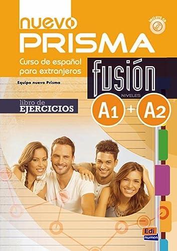 9788498485226: Nuevo prisma. Fusion A1/A2. Libro de ejercicios. Per le Scuole superiori. Con CD virtuale. Con espansione online