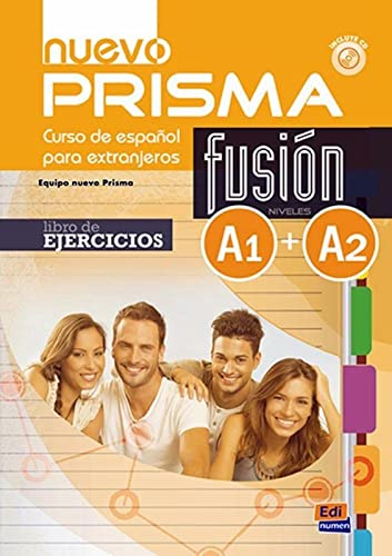 9788498485226: Nuevo Prisma Fusion A1 + A2: Exercises Book